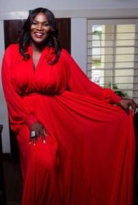 5TH AFRIMA Hostess; Anita Erskine