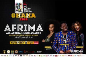 5TH AFRIMA Host & Hostess