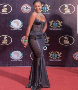 Daphne attends the 2018 AFRIMA Awards in Accra, Ghana