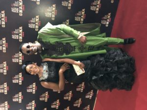 Miss Gina Promotes & Stanley Enow attends the 2018 AFRIMA Awards in Accra, Ghana