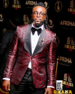 Rythmz attends 2018 AFRIMA Awards in Accra, Ghana