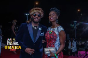 Magasco attends the 2018 AFRIMA Awards in Accra, Ghana