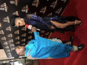 Shura attends the 2018 AFRIMA Awards in Accra, Ghana