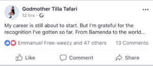 """""""My career is still about to start…"""" Tilla Reassures Her Fans"""