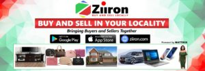 Sell and Buy locally using the Ziiron App